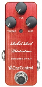 Distortion One Control Rebel Red