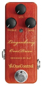 Efekt overdrive One control Lingonberry