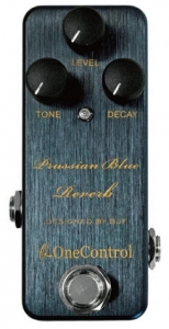 Efekt reverb One Control Prussian Blue